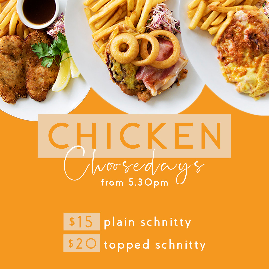 Chicken Chooseday every Tuesday from 5.30pm